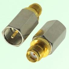 RF Adapter FME Male Plug to SMA Female Jack