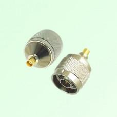 RF Adapter MCX Female Jack to N Male Plug