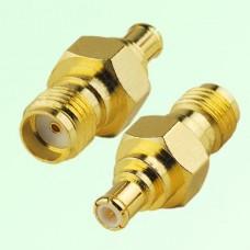 RF Adapter MCX Male Plug to SMA Female Jack