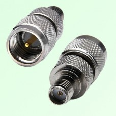 RF Adapter Mini UHF Male Plug to SMA Female Jack