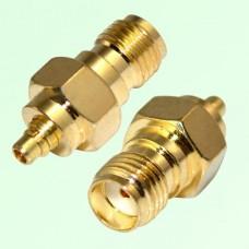 RF Adapter MMCX Male Plug to SMA Female Jack