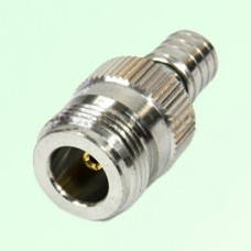 RF Adapter N Female Jack to QMA Male Plug