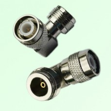 Right Angle N Female Jack to TNC Male Plug Adapter