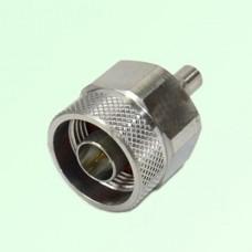 RF Adapter N Male Plug to QMA Female Jack