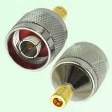 RF Adapter N Male Plug to SMB Female Jack