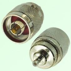 RF Adapter N Male Plug to SMB Male Plug