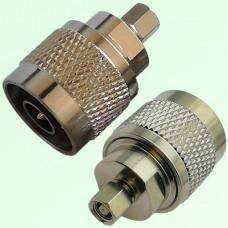 RF Adapter N Male Plug to SMC Female Jack
