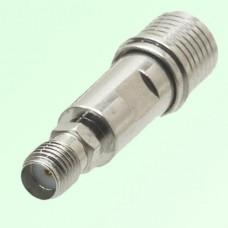RF Adapter QMA Male Plug to SMA Female Jack