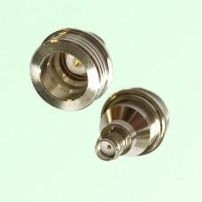 RF Adapter QN Male Plug to SMA Female Jack