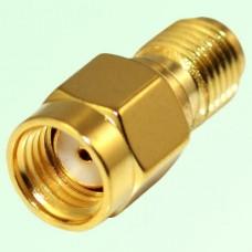 RF Adapter RP SMA Male Plug to SMA Female Jack