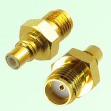 RF Adapter SMA Female Jack to SMC Male Plug