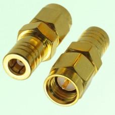 RF Adapter SMA Male Plug to SMB Female Jack