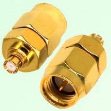 RF Adapter SMA Male Plug to SMP Female Jack