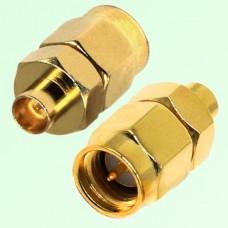 RF Adapter SMA Male Plug to SMP Male Plug