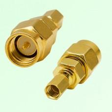 RF Adapter SMA Male Plug to SSMC Female Jack