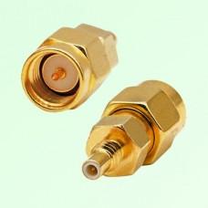 RF Adapter SMA Male Plug to SSMC Male Plug