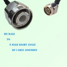 HN Male to N Male Right Angle RF Cable Assembly