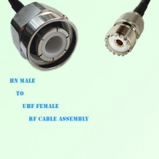 HN Male to UHF Female RF Cable Assembly