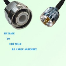 HN Male to UHF Male RF Cable Assembly